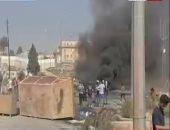 احتجاجات فى رام الله اعتراضا على تعرض أسير فلسطينى للتعذيب