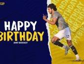 الجونة يحتفل بعيد ميلاد عمرو بركات الـ28