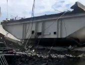 إصابة 12 شخصا فى انهيار جسر بتايوان
