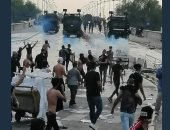 السفارة الأمريكية فى بغداد تعرب عن أسفها لاستخدام العنف ضد المتظاهرين