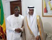 سفير السعودية لدى مالى يلتقى مسؤول الأمن الغذائى