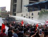 كر وفر بين المتظاهرين والشرطة فى العاصمة العراقية بغداد
