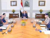 السيسى: مصر ستواصل مواجهة الإرهاب ومن يموله ويدعمه بكل قوة وحسم