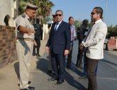 مدير أمن المنوفية يتفقد الخدمات الأمنية للوقوف على جاهزية القوات