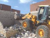 تساقط أجزاء من عقار دون إصابات وضبط 5 حالات بناء مخالف بالإسكندرية