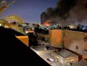 العربية: سقوط 11 قذيفة على مطار معيتيقة في طرابلس