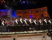 جامعة المستقبل تحتفل بتخريج دفعتها العاشرة بمركز المنارة الدولى للمؤتمرات