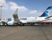 انضمام الطائرة الثالثة لمصر للطيران من طراز إيرباص A320Neo خلال ساعات