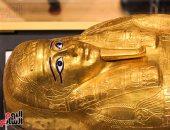 الآثار تعرض تابوت نجم عنخ الذهبى بعد عودته من أمريكا