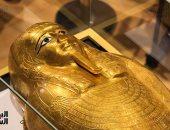 """التابوت الذهبى"""" نجم عنخ"""" يعود من امريكا ويزين متحف الحضارة"""