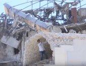شاهد.. حملات تطوعية من الشباب السورى لإعادة إعمار حلب