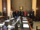 وفد من رجال أعمال الإسكندرية يلتقى مساعد وزير الخارجية للعلاقات الاقتصادية
