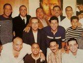 صورة نادرة.. السقا وكريم  وهانى رمزى و أشرف عبد الباقى أيام الشقاوة