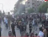 ليلة ساخنة فى بغداد .. شاهد بالفيديو ماذا حدث مساء أمس فى العراق