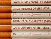 """""""فقدان دقائق من الحياة""""..بحث: التحذير على السجائر يساعد على الحد من التدخين"""