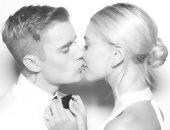 أبيض وأسود.. شاهد الصور الأولى من حفل زواج جاستين بيبر وهايلى بالدوين