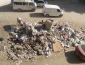 شكوى من انتشار القمامة فى شارع جمال عبد الناصر فى منطقة فيصل بالهرم