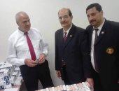 جمارك مطار القاهرة تضبط محاولة تهريب كمية من الأدوية والأقراص المخدرة