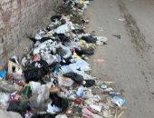 قارئ يشكو من وجود أكوام قمامة بشارع السودان بالمهندسين
