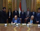 العصار يشهد توقيع مذكرة مع شركة كويتية للتعاون فى نقل تكنولوجيا المدن الذكية