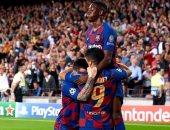 ميسي وسواريز وفاتى على رأس قائمة برشلونة ضد إسبانيول في الدوري الإسباني