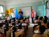 صور.. مياه القناة تنظم ندوات توعية بـ120 مدرسة للحفاظ على مياه الشرب