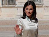 """الملكة """"ليتيزيا"""" تخطف أنظار الصحف الإسبانية بأحدث إطلالاتها.. صور"""