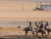 تعرف على آخر استعدادات شرم الشيخ لاستضافة فعاليات سباقات الهجن.. صور
