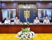 السيسى يضع إكليل زهور على نصب الجندى المجهول  ويترأس اجتماع  المجلس الأعلى للقوات المسلحة