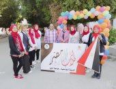 صور.. بدء تسكين طلاب المدن الجامعية بجامعة المنيا