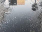 القابضة للمياه تصلح انسداد بالصرف الصحى بقرية المعتمدية بالجيزة