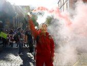 المئات يحيون ذكرى مرور 51 عام على مسيرة مذبحة الطلاب فى مكسيكو