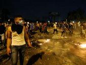 تجدد الاحتجاجات فى ساحة التحرير وسط العاصمة العراقية بغداد