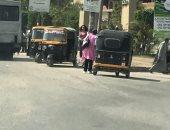 الشرطة تطارد سائق توك توك صدم سيدة وخطف حقيبتها بمصر القديمة