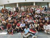 رئيس جامعة بنها يستقبل طلاب البرامج الجديدة بفرع الجامعة فى العبور