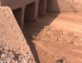 محافظة مطروح : 3 ملايين جنيه لإنشاء 4 سدود للحد من مخاطر السيول والأمطار