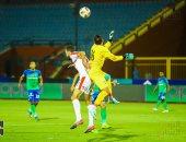 ملخص مباراة الزمالك و مصر المقاصة فى الدوري