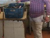 مصادرة 2.5 طن رنجة فاسدة فى مصنع بالزقازيق