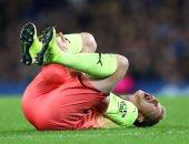 جوارديولا يعلن غياب دى بروين عن مانشستر سيتى ضد وولفرهامبتون