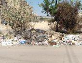 """""""الدخان القاتل """".. شكوى من تراكم القمامة فى المنطقة العاشرة بمدينة نصر"""