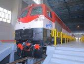 صور.. النقل تستلم أول دفعة من جرارات القطارات الجديدة الشهر المقبل
