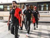 وصول لاعبى الأهلى إلى أسوان استعداداً لمواجهة تماسيح النيل