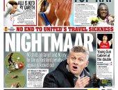 الصحافة الإنجليزية تهاجم مانشستر يونايتد الممل فى الدورى الأوروبى