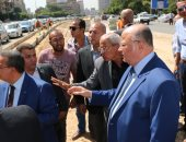 صور.. محافظ القاهرة يتفقد أعمال تطوير وتوسعة شارع الحجاز بمصر الجديدة والنزهة