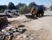 صور.. رفع وإزالة 210 أطنان من المخلفات بمركز ومدينة أبوصوير بالإسماعيلية