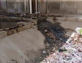 شكوى من انتشار مياه الصرف الصحى بالحى 11 فى 6 أكوبر