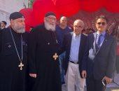 صور.. قنصل مصر العام في نيويورك يزور كنيسة ستاتن ايلاند ويتفقد معرض المنتجات المصرية