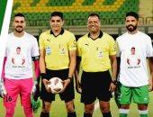 لاعبو المصرى والاتحاد لإسلام صلاح : ربنا يرجعك بالسلامة