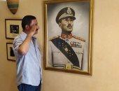 حسين يشارك بصورته من داخل متحف السادات فى ذكرى انتصارات أكتوبر