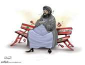 """كاريكاتير الصحف الإمارتية.. ممارسات """"حزب الله"""" تؤدى لتدهور اقتصاد لبنان"""